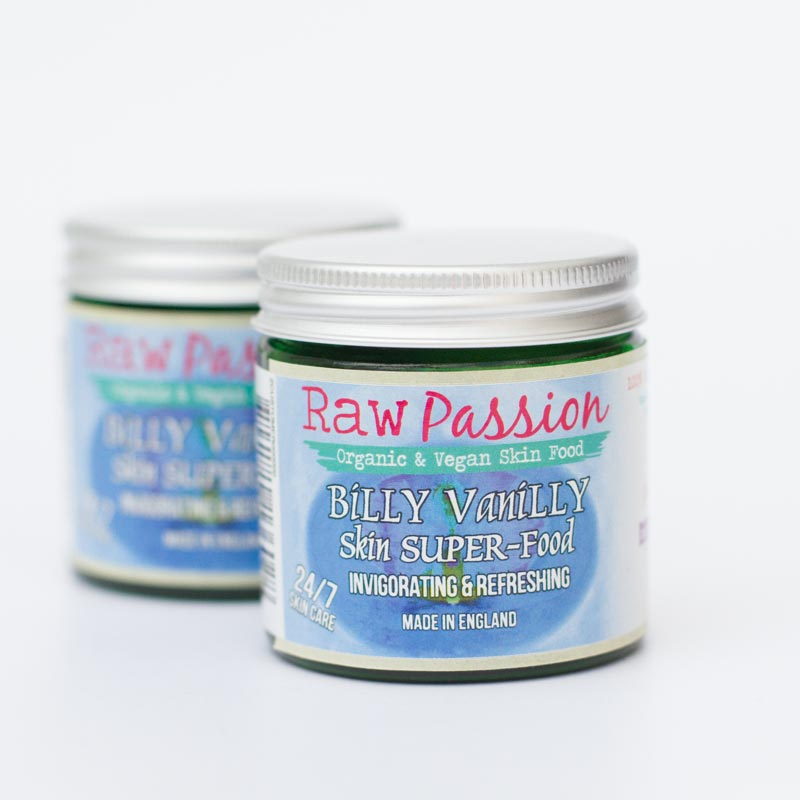 RAW PASSION - Billy Vanilly, Invigorating and Refreshing Skin Super Food