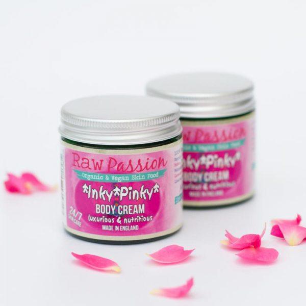 RAW PASSION - Inky Pinky Body Cream - Raw Organic Beauty