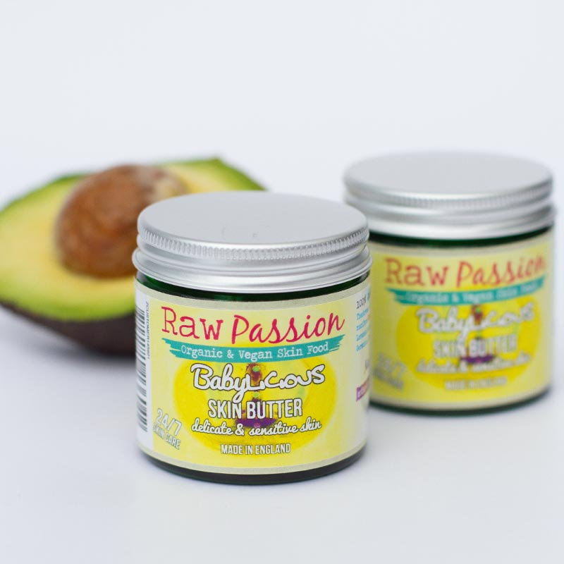 RAW PASSION - Babylicious Skin Butter for delicate and sensitive skin