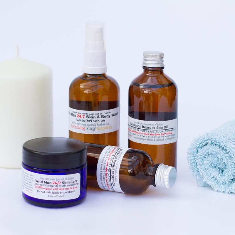 RAW PASSION - Wild Man Raw and Organic Skin Care for Men