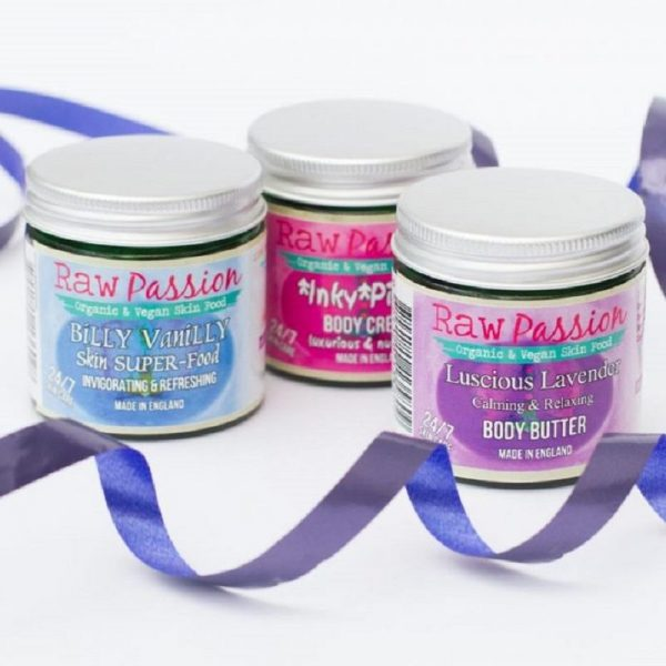 RAW PASSION Multi-Pack OFFER! Calming Refreshing & Nutritious Skin SUPER-food